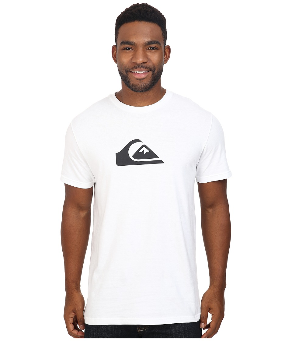 Quiksilver - Mountain Wave Tee (White) Men's T Shirt