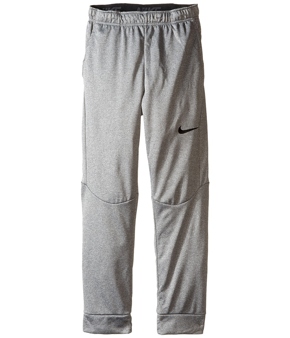 Nike Kids - Therma Tapered Pants (Little Kids/Big Kids) (Dark Grey Heather/Black) Boy's Casual Pants