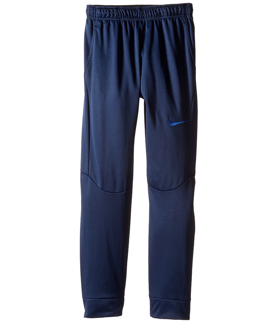 Nike Kids - Therma Tapered Pants (Little Kids/Big Kids) (Obsidian/Game Royal) Boy's Casual Pants