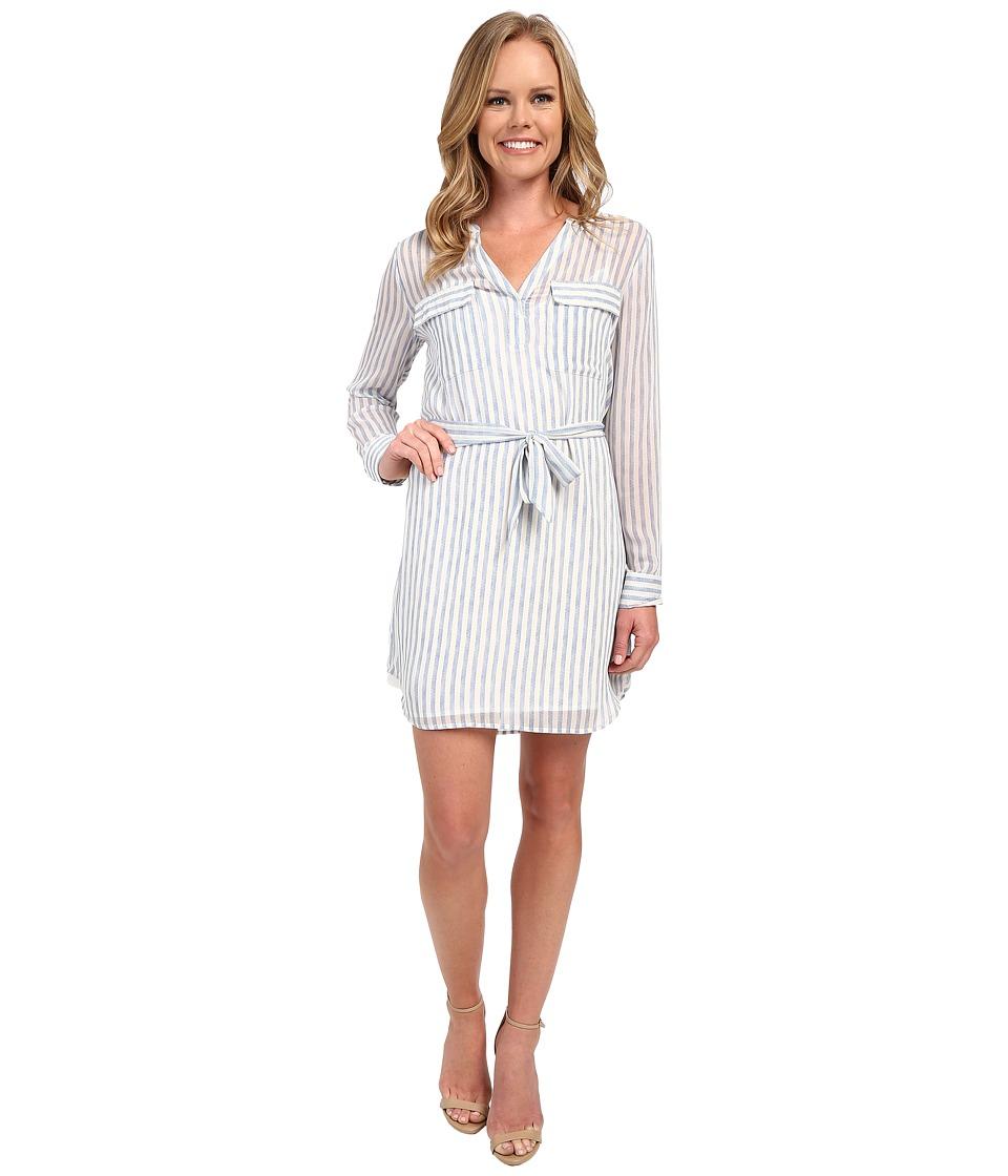 Sanctuary - Spring City Shirtdress (Laundry Stripe) Women's Dress