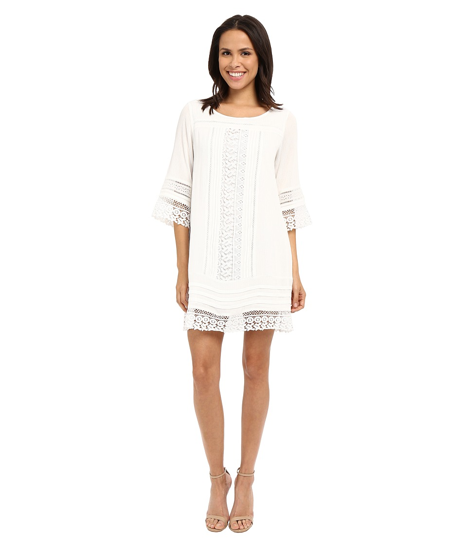 Sanctuary - Desert Boheme Dress (White) Women's Dress