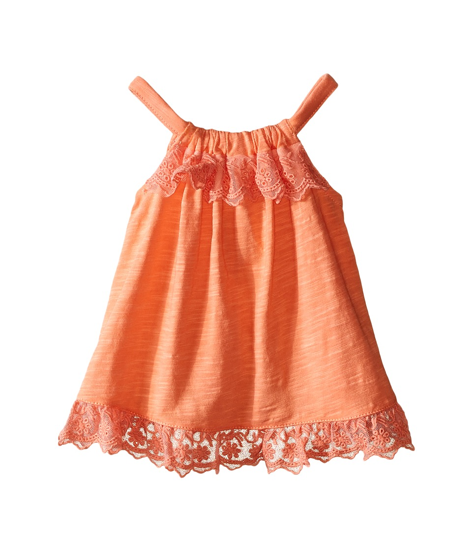 Pumpkin Patch Kids - Curve Back Top (Infant) (Desert Flower) Girl's Sleeveless