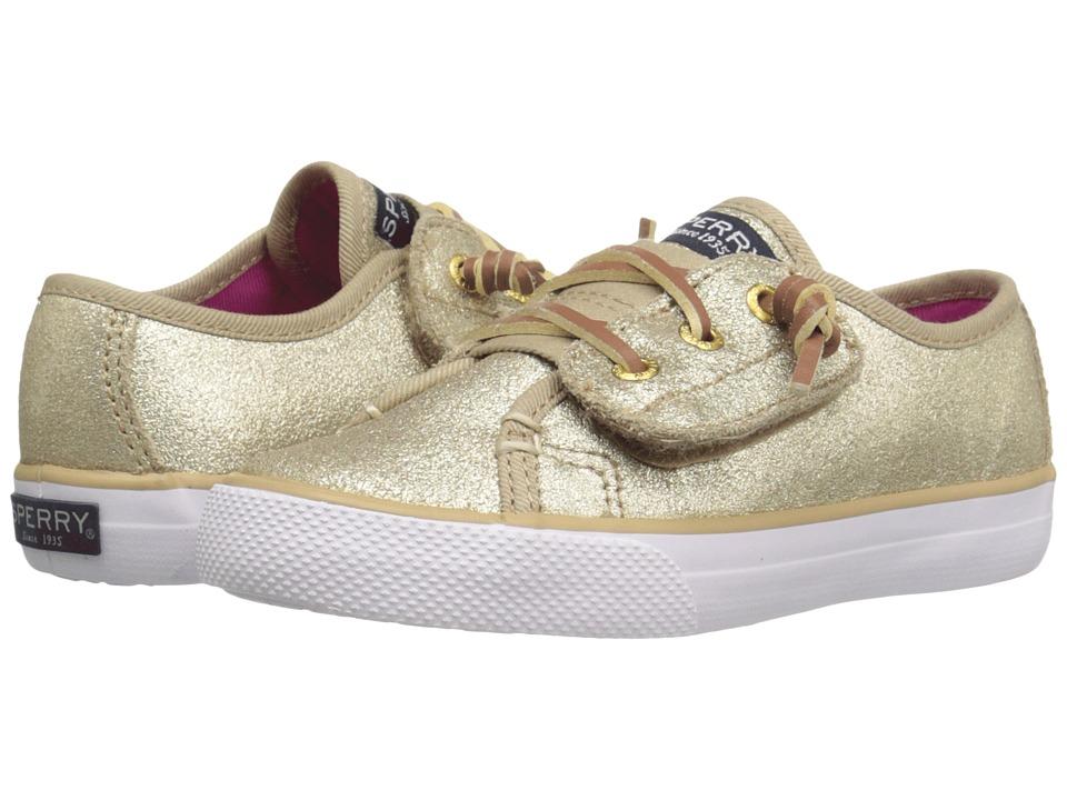 Sperry Kids - Seacoast Jr. (Toddler/Little Kid) (Platinum) Girl's Shoes