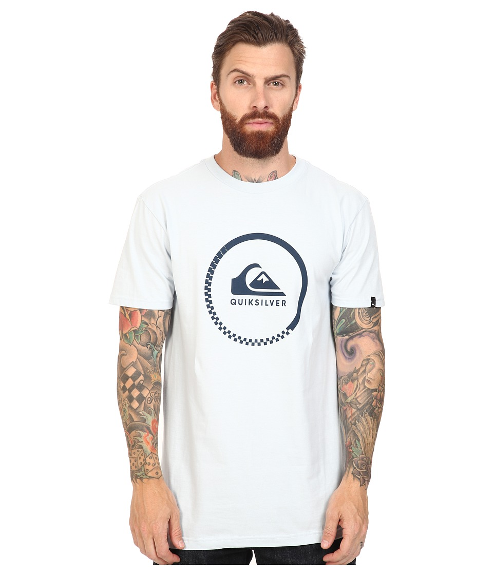Quiksilver - Active Logo Tee (Ballad Blue) Men's T Shirt