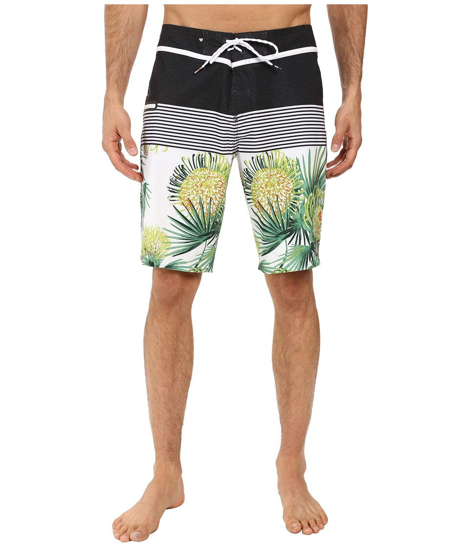 Quiksilver - Division Remix 20 Boardshorts (White) Men's Swimwear