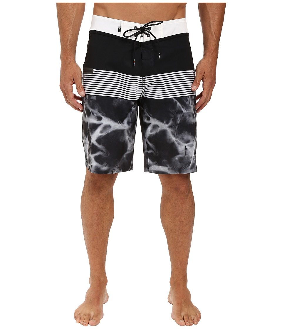 Quiksilver - Division Remix 20 Boardshorts (Black) Men's Swimwear