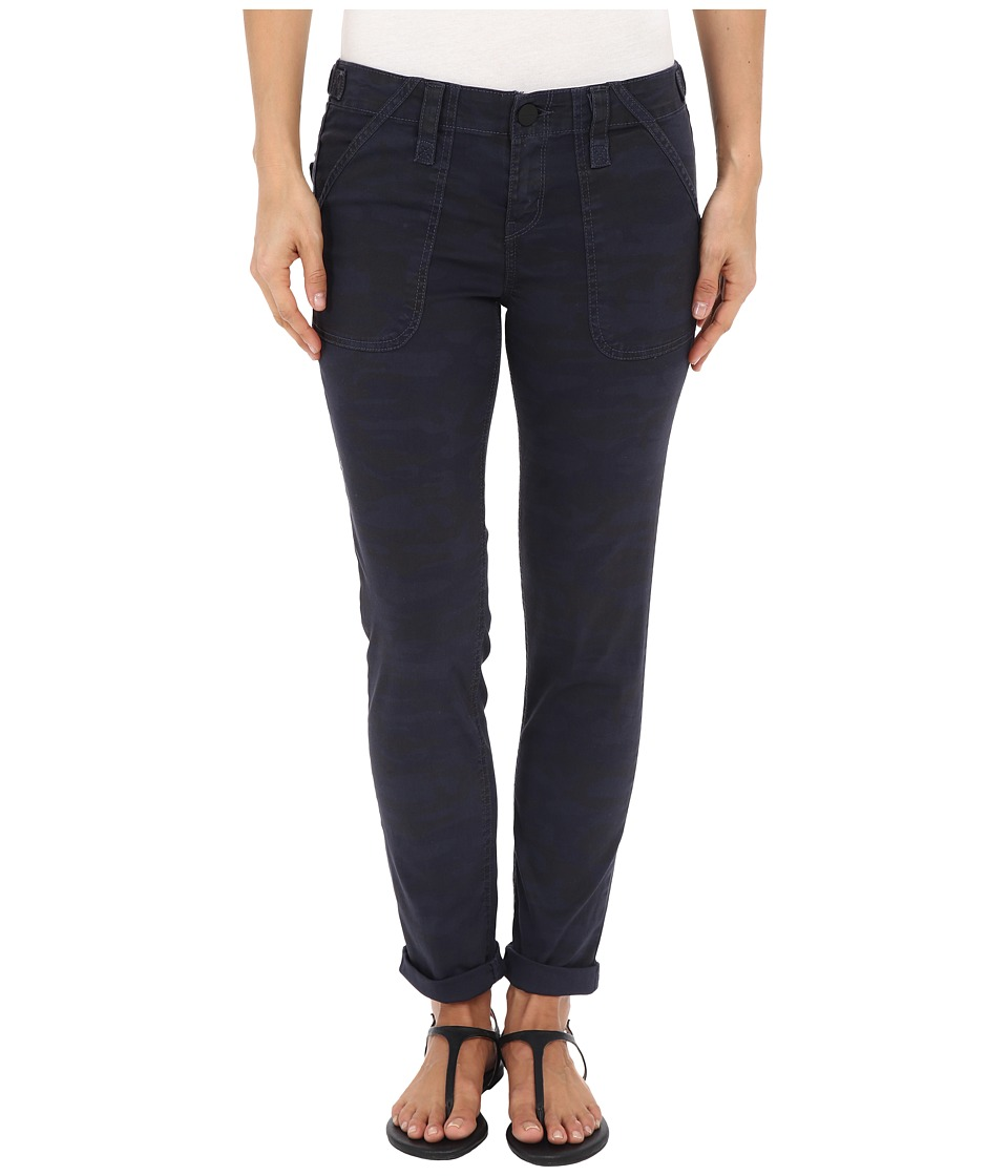 Sanctuary - Relaxed Traveler Pants (Navy Camo) Women's Casual Pants