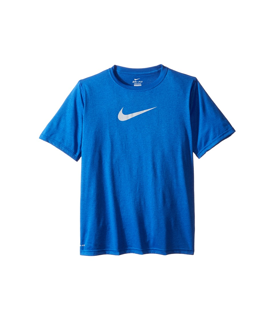 Nike Kids - Essentials Legend S/S Top (Little Kids/Big Kids) (Game Royal/Wolf Grey) Boy's Workout