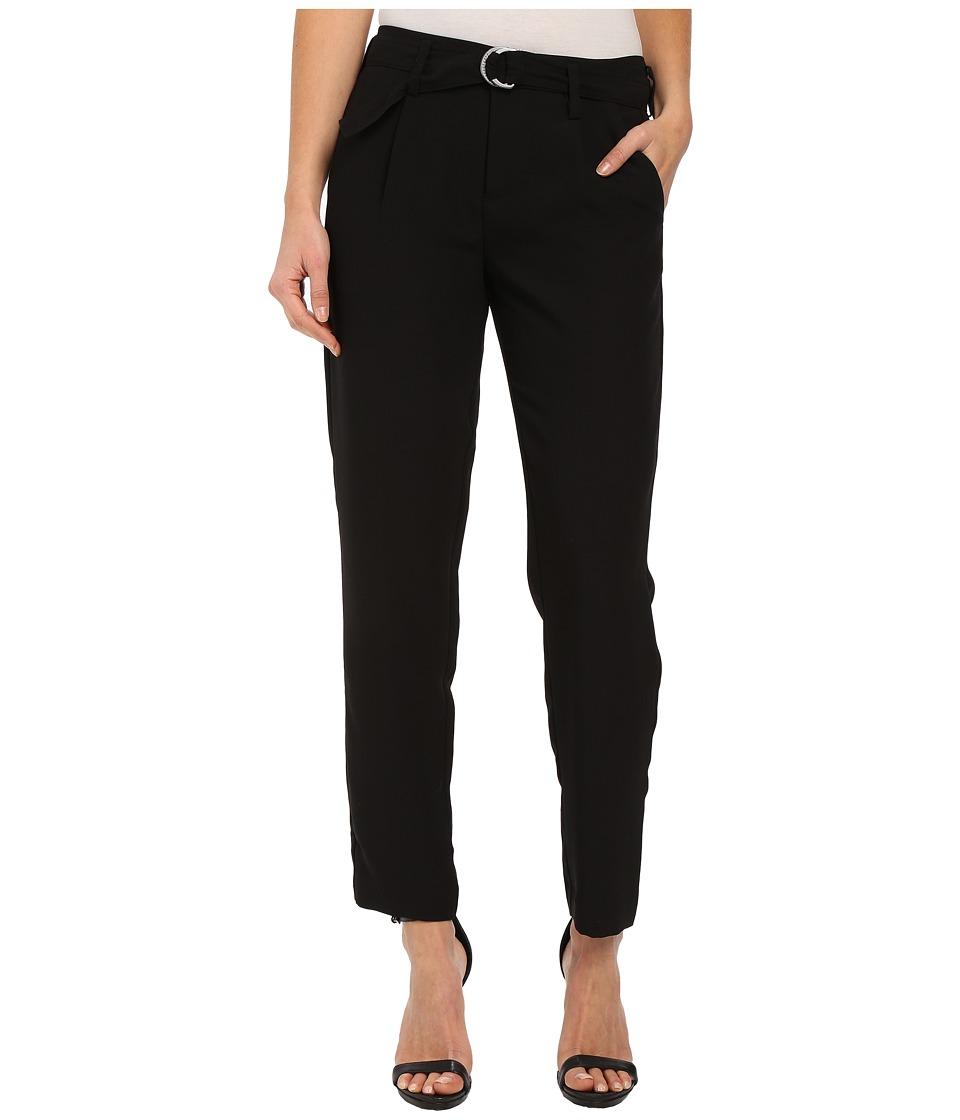 Sanctuary - Essential Boulevard Pants (Black) Women's Casual Pants