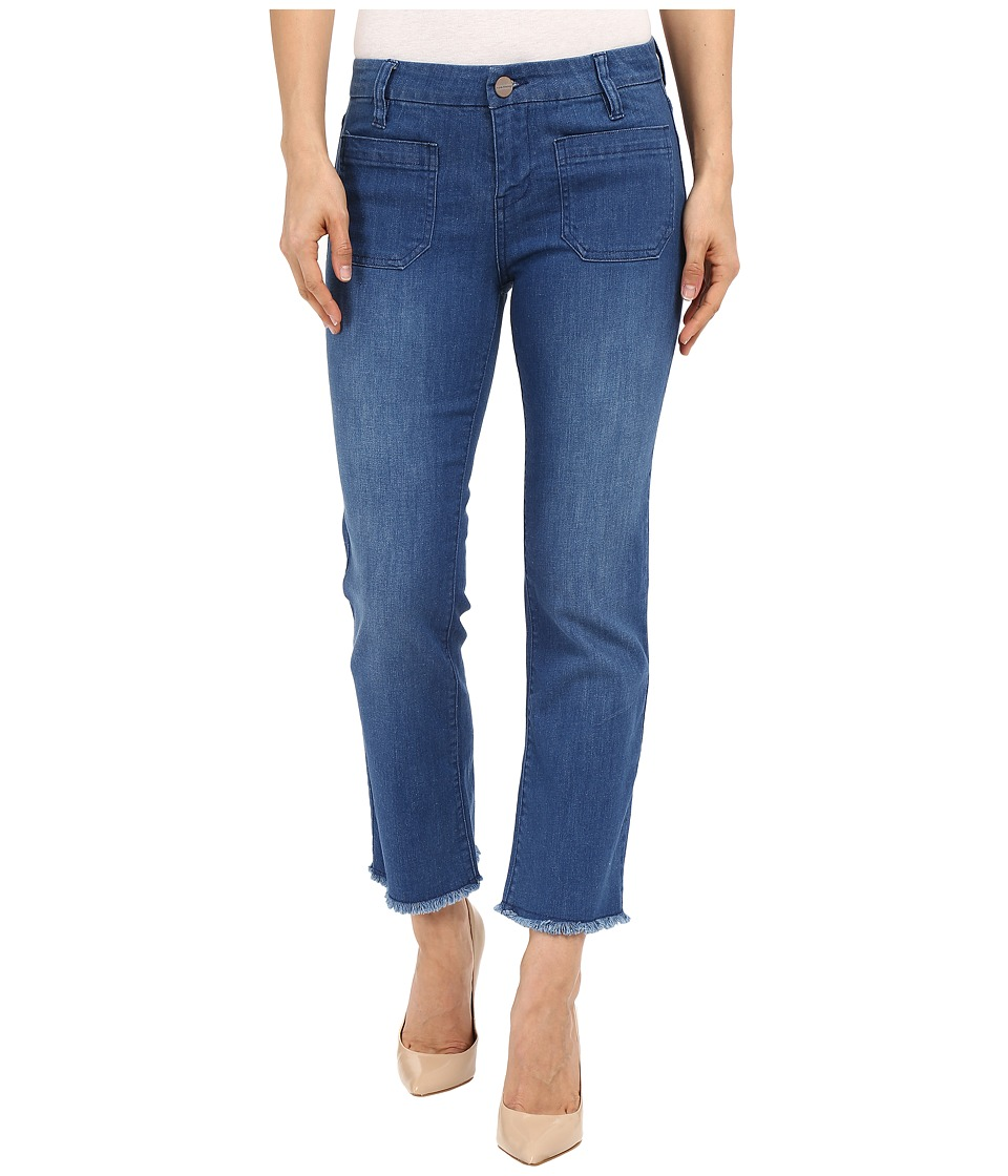 Sanctuary - Marianne Frayed Crop Pants (Olympus Wash) Women's Jeans