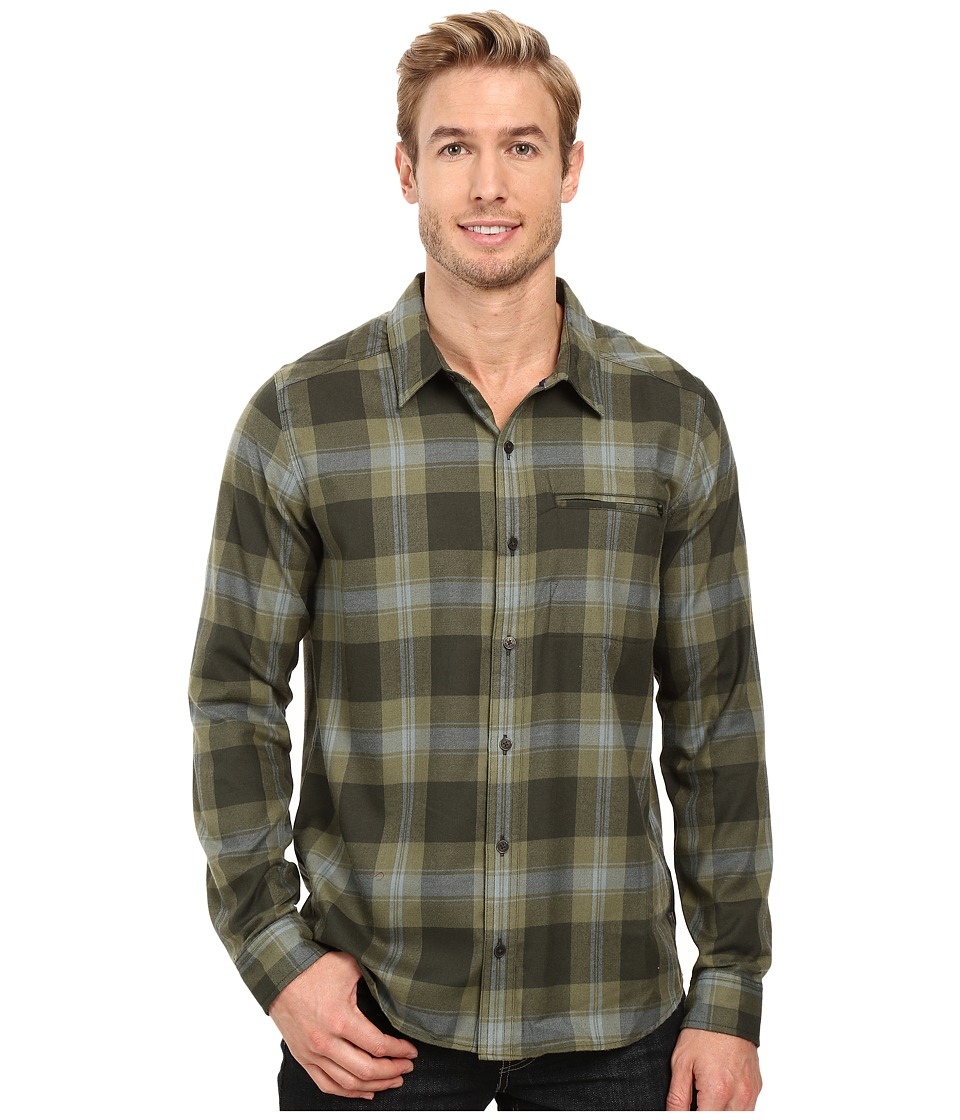 Toad&Co - Wainwright Long Sleeve Shirt (Rosin) Men's Clothing