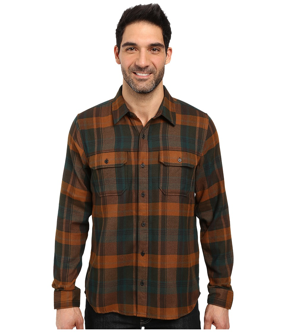 Toad&Co Watchdog Long Sleeve Shirt (Buffalo) Men