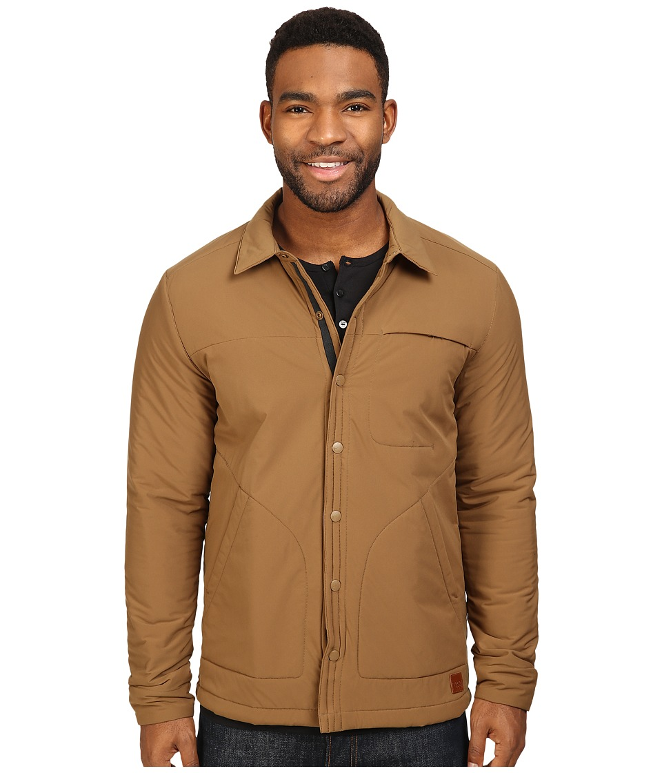 Toad&Co - Aerium Shirtjac (Seal Brown) Men's Coat