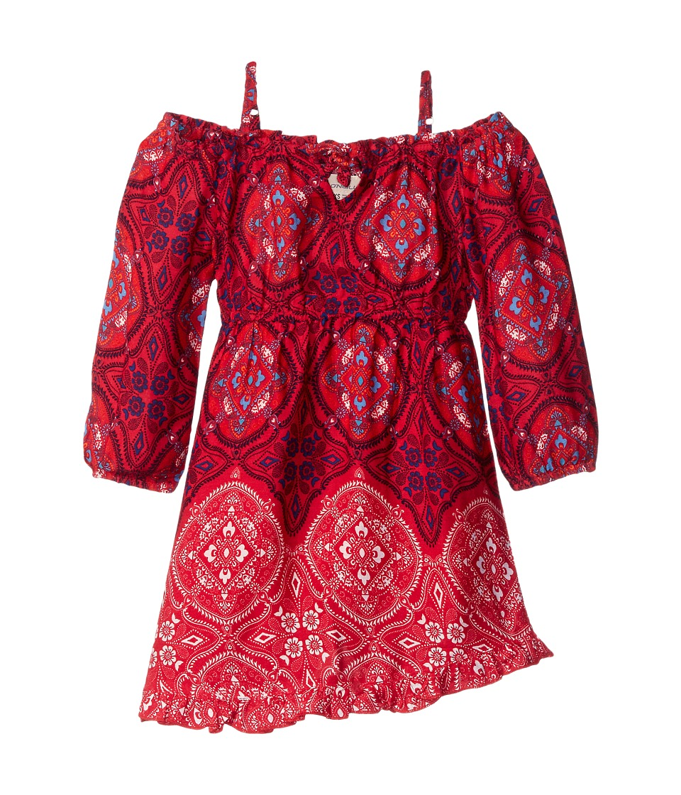 O'Neill Kids - Knoxville (Little Kids/Big Kids) (Red/Lipstick Red) Girl's Dress