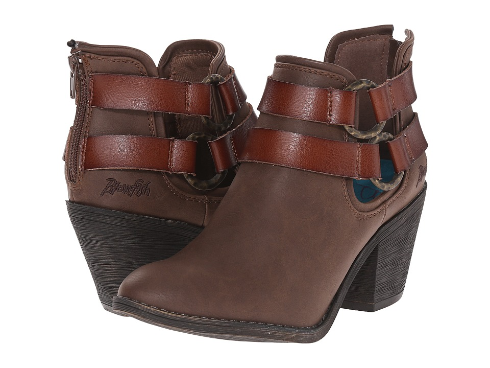 Blowfish Sucraa (Coffee Texas PU/Whiskey Dyecut) Women