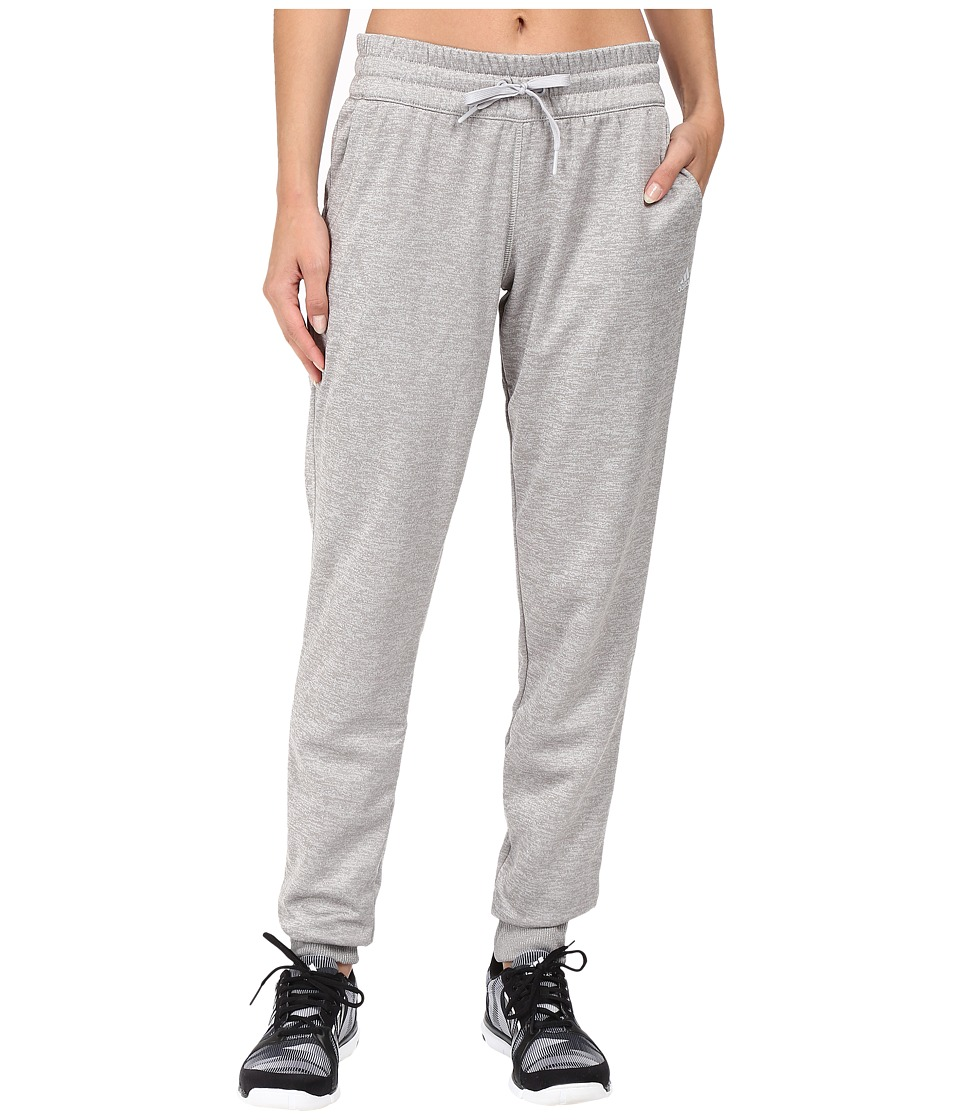 adidas - Team Issue Fleece Jogger Pants (Light Grey Heather) Women's Workout