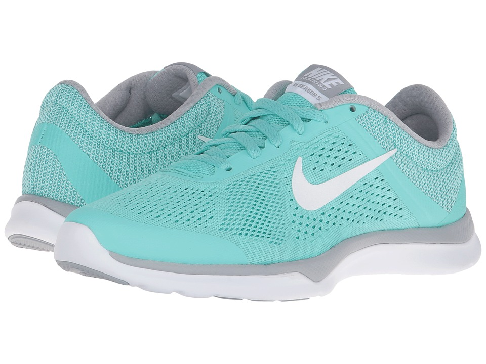Nike - In-Season TR 5 (Hyper Turquoise/Wolf Grey/Clear Jade/White) Women's Cross Training Shoes