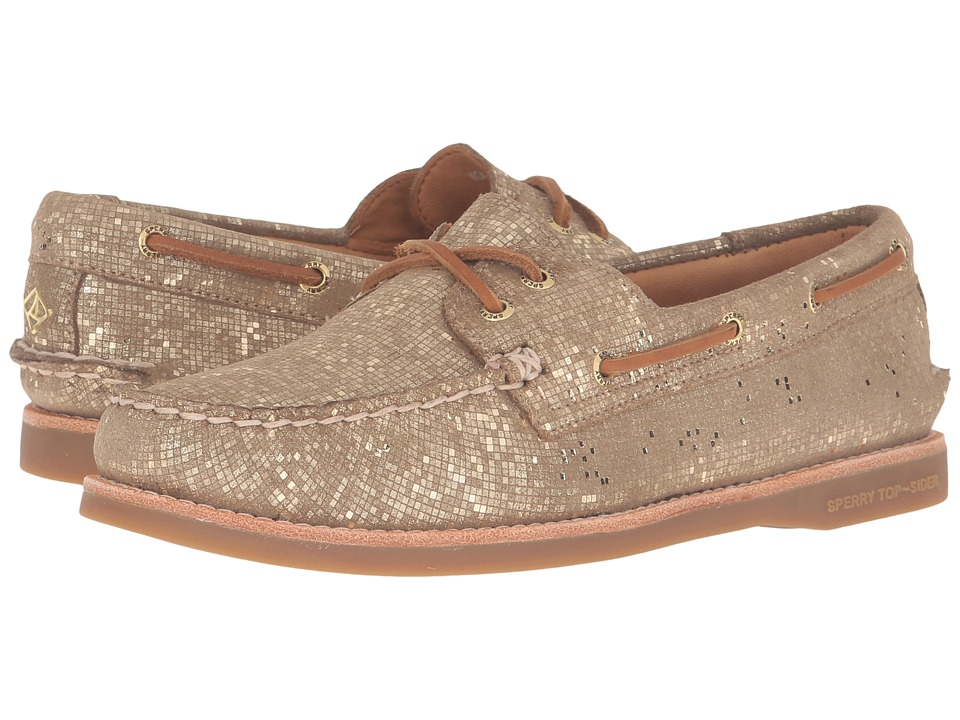 Sperry Top-Sider Gold Cup A/O Seasonal (Gold Metallic) Women