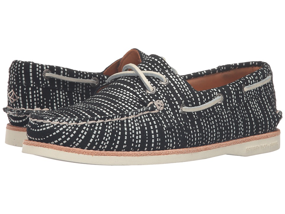 Sperry Gold Cup A/O Seasonal (Black/White) Women