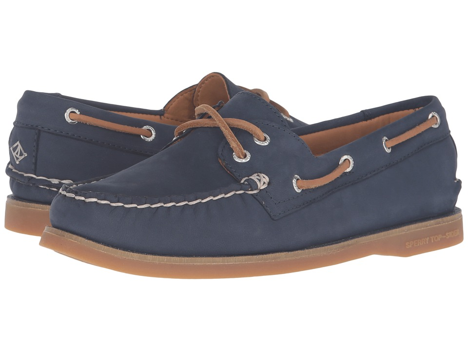 Sperry Top-Sider - Gold Cup A/O Seasonal (Navy/Glitter) Women's Lace up casual Shoes