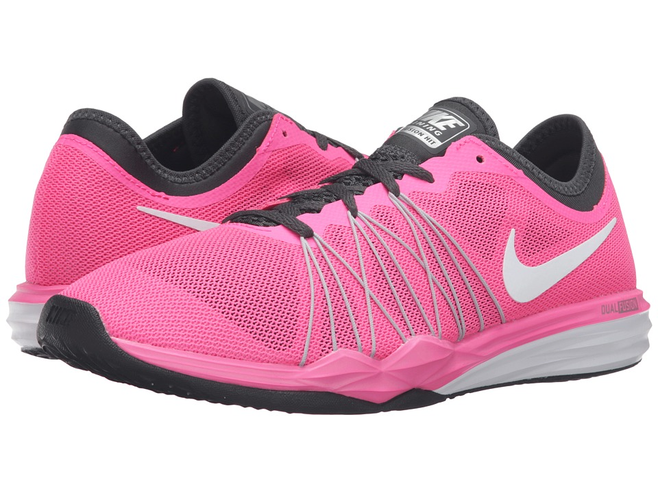 Nike - Dual Fusion TR Hit (Pink Blast/Anthracite/Black/White) Women's Shoes
