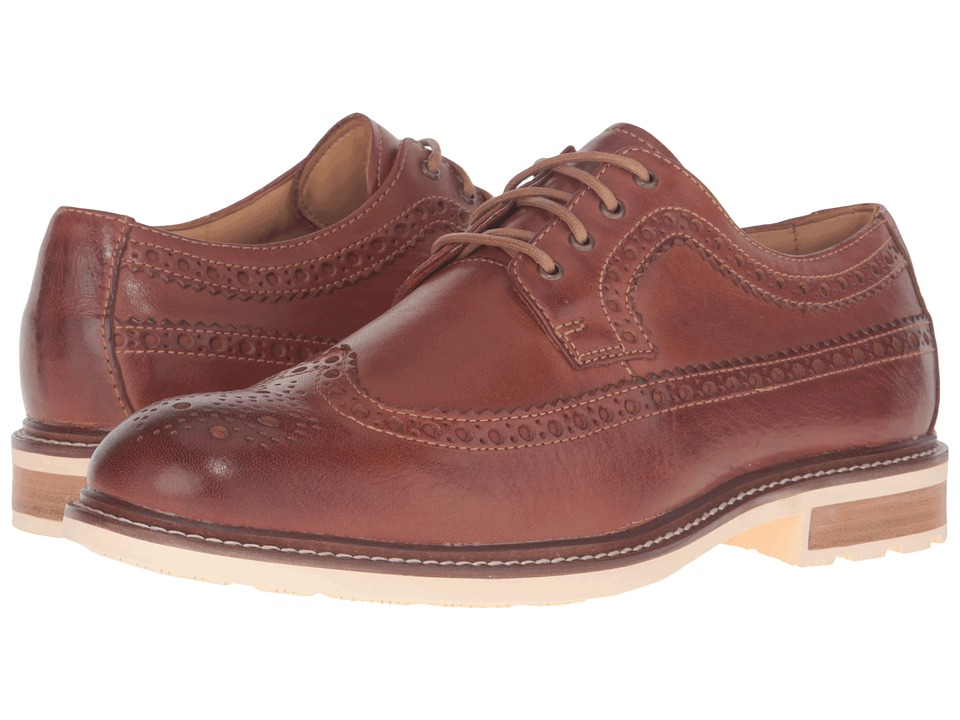 Sperry - Gold Annapolis Wingtip (Tan) Men's Lace Up Wing Tip Shoes