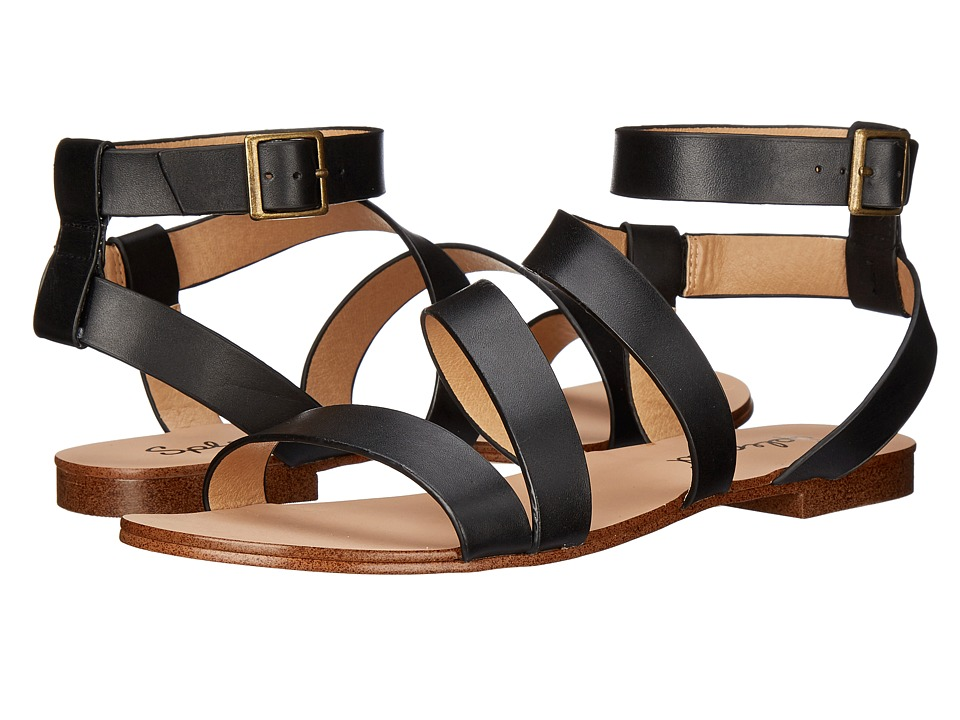Splendid - Caracas (Black Leather) Women's Sandals