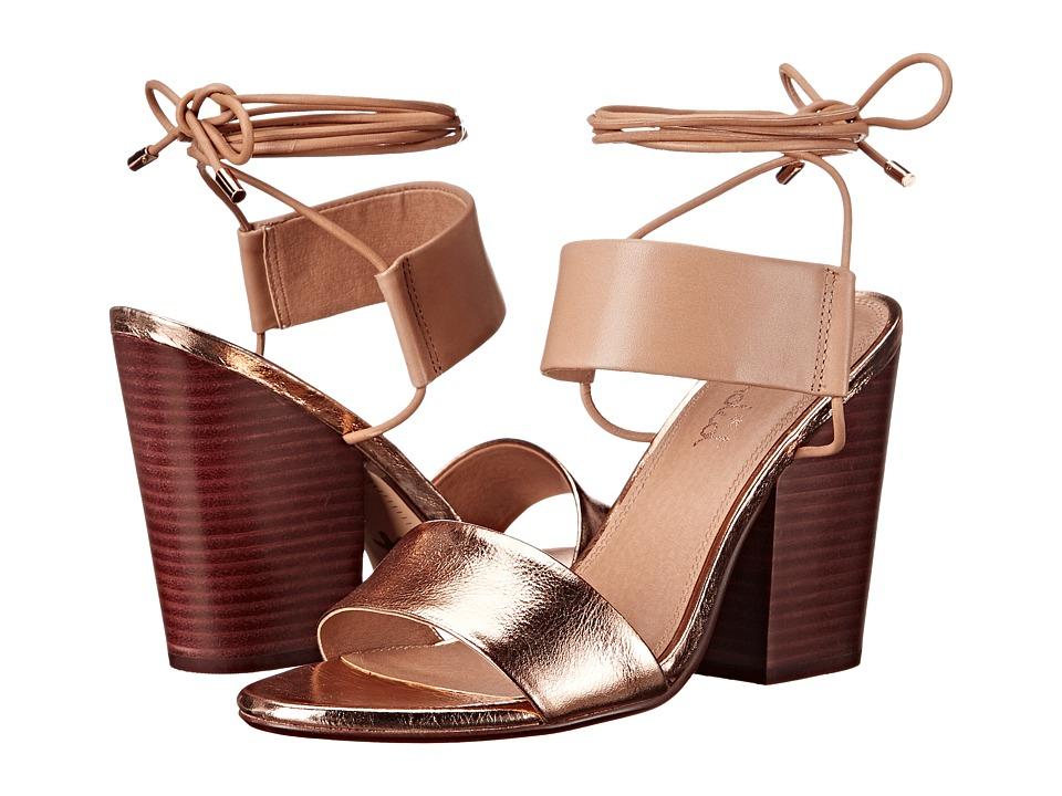 Splendid - Kenya (Rose Gold Metallic Crinkle Leather) High Heels