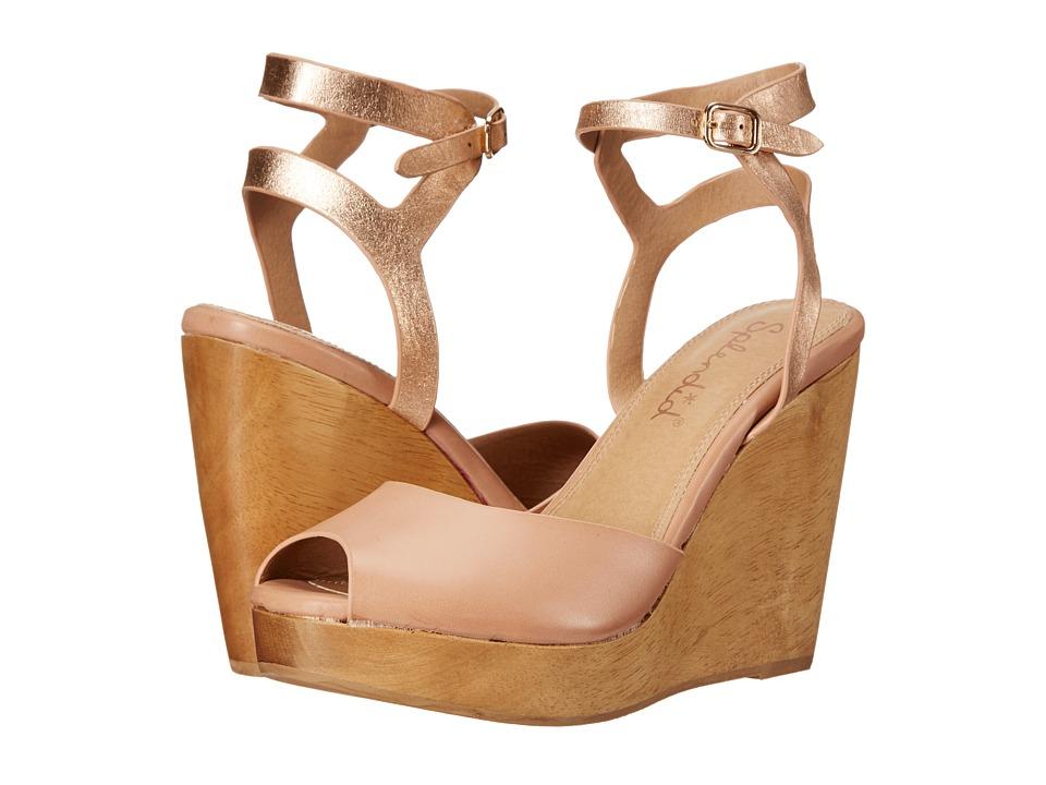 Splendid - Danaka (Blush Vintage Leather) Women's Wedge Shoes