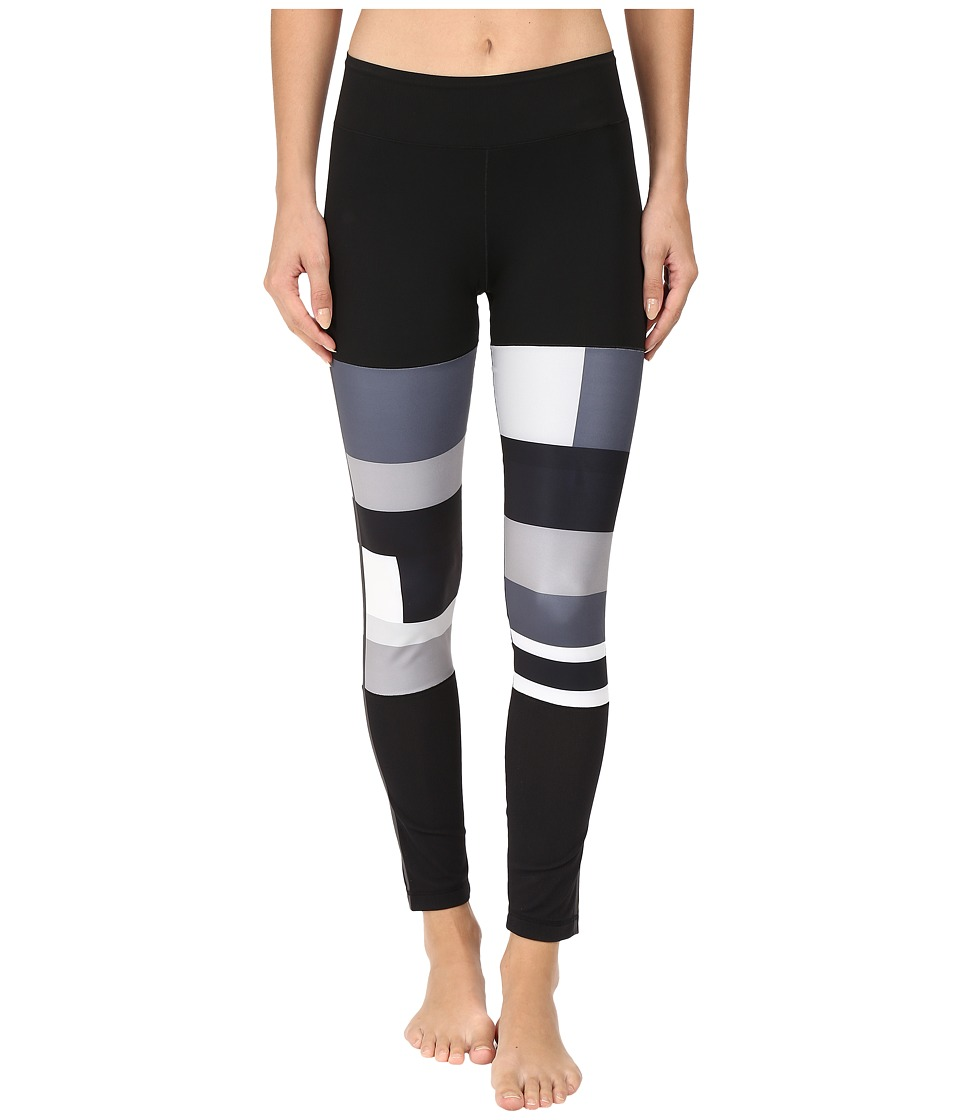 adidas - Sport DNA WOW Tights (Black Print) Women's Workout