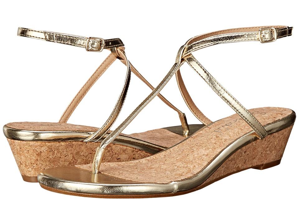 Splendid - Ember (Gold Crinkled Metallic) Women's Sandals