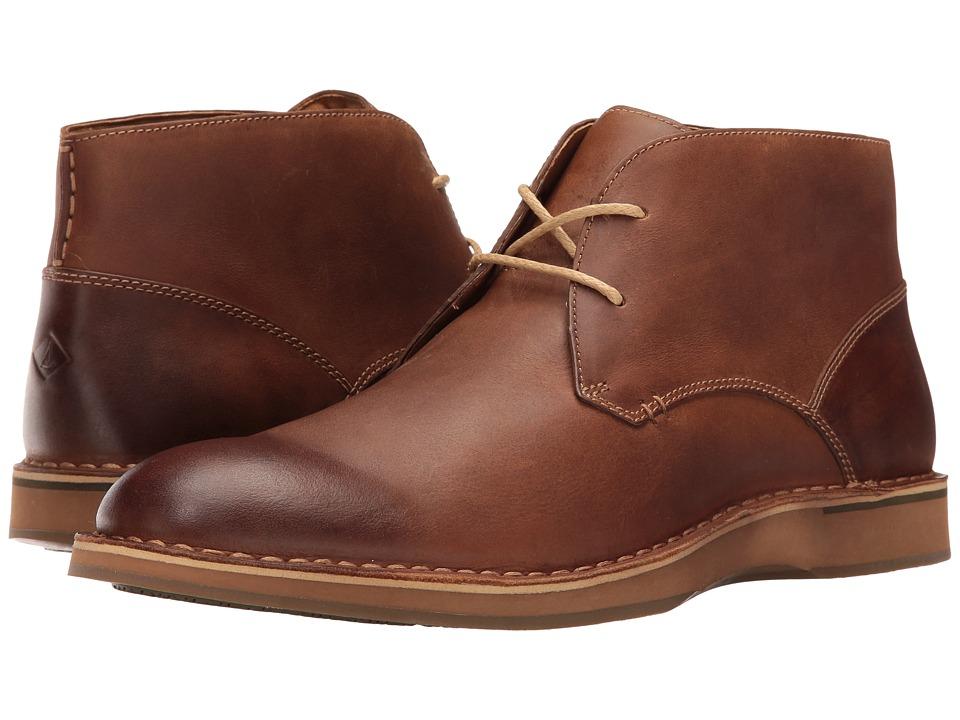 Sperry Gold Norfolk Chukka w/ ASV (Tan Leather) Men