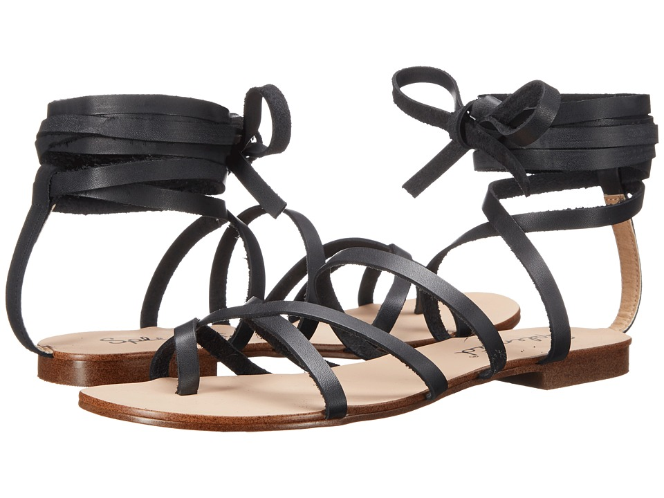 Splendid - Carly (Black Leather) Women's Sandals