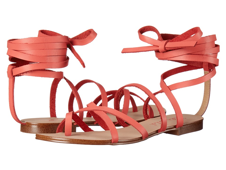 Splendid - Carly (Coral Leather) Women's Sandals