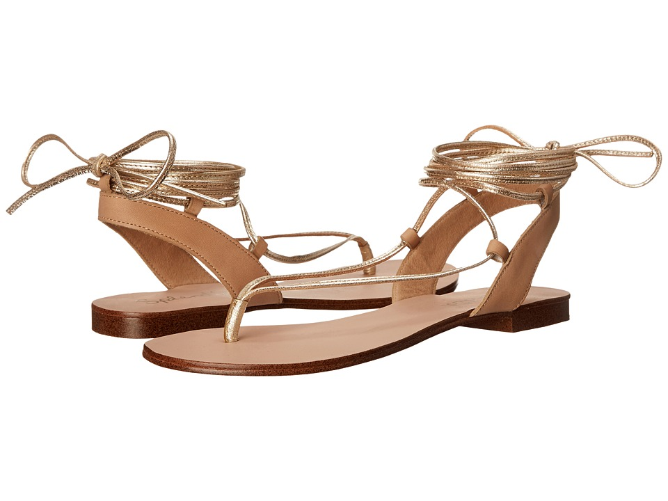 Splendid - Candee (Gold Crinkle Metallic) Women's Sandals