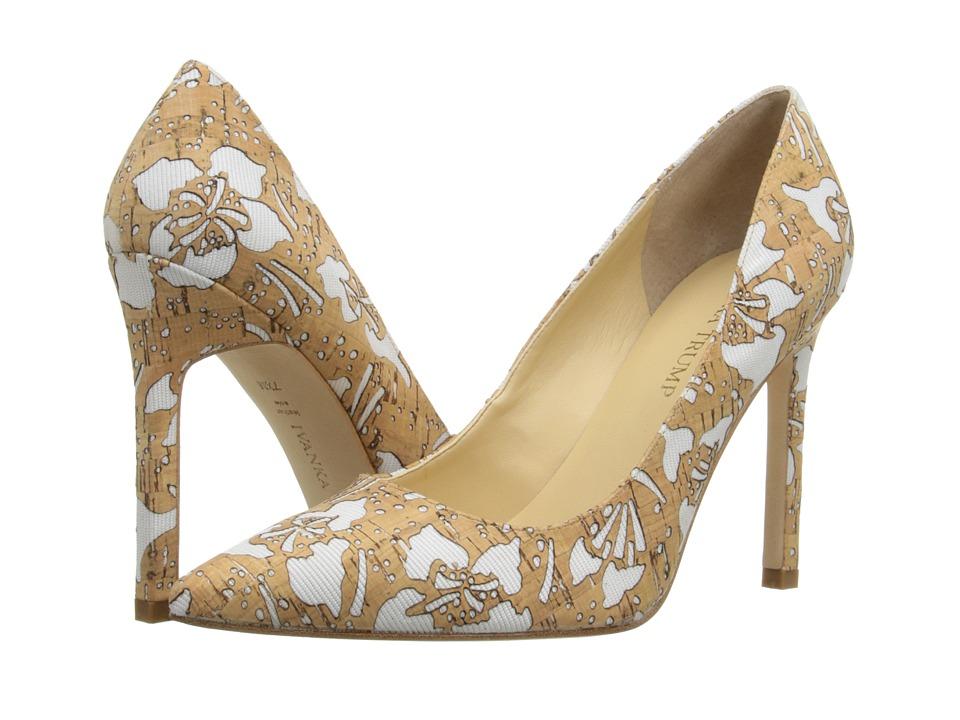 Ivanka Trump - Carra 10 (White/Cork) Women's Shoes