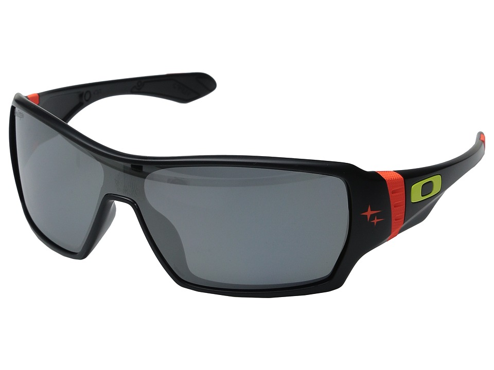 Oakley - TLD Offshoot (Matte Black/Iridium Polarized) Sport Sunglasses