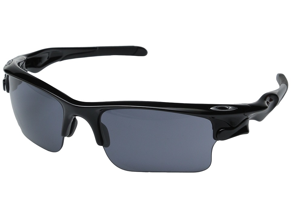 Oakley - MPH Fast Jacket XL (Black w/ Grey) Sport Sunglasses
