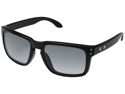 Oakley - Holbrook (Matte Black w/Gradient) Sport Sunglasses