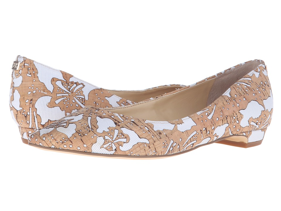 Ivanka Trump - Tizzy 8 (White/Cork) Women's Flat Shoes