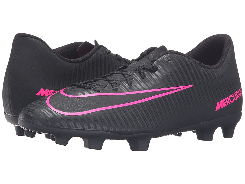 Nike - Mercurial Vortex III FG (Black/Black) Men's Soccer Shoes