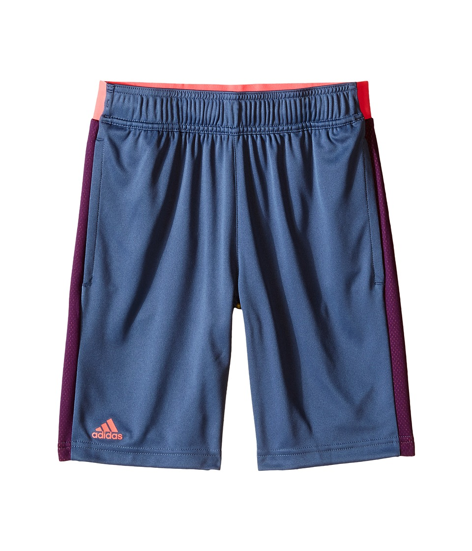 adidas Kids - Barricade Shorts (Little Kids/Big Kids) (Tech Ink/Flash Red) Boy's Shorts