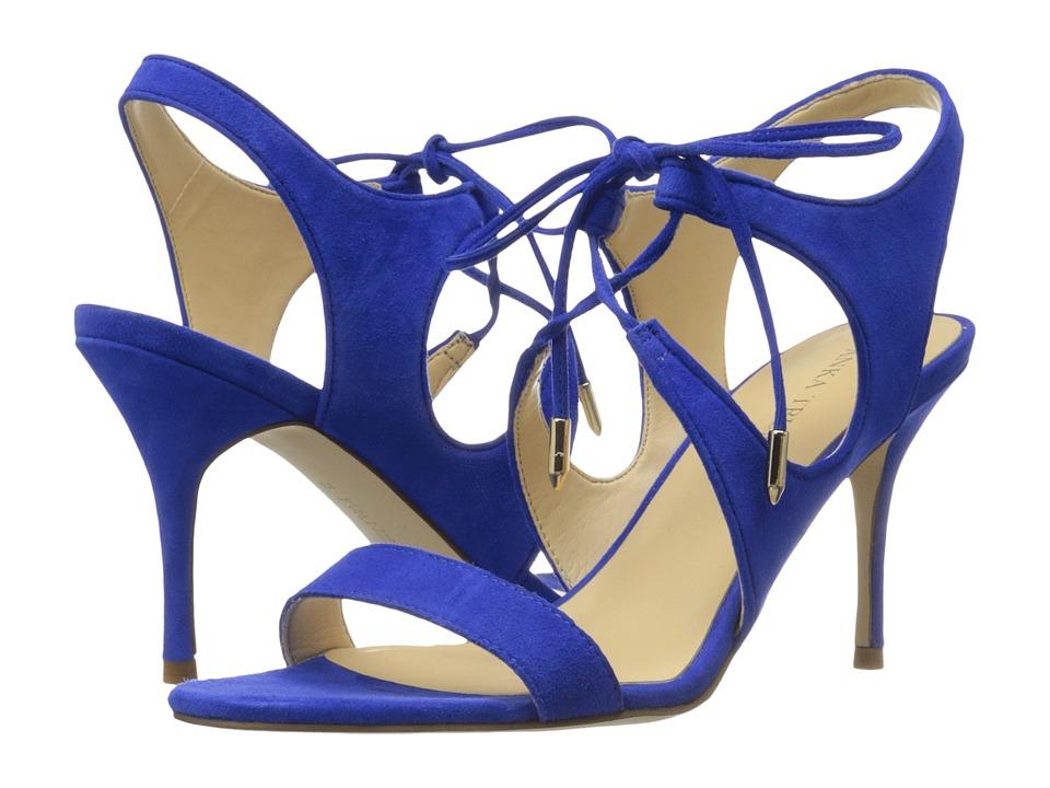 Ivanka Trump Garver (Bright Sapphire/FH Kid Suede) High Heels