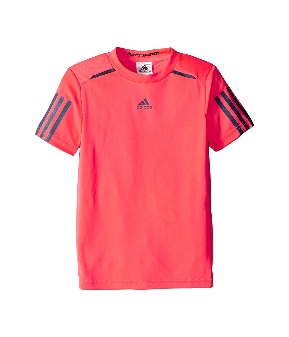 adidas Kids - BARRICADE Tee (Little Kids/Big Kids) (Flash Red/Tech Ink) Boy's T Shirt