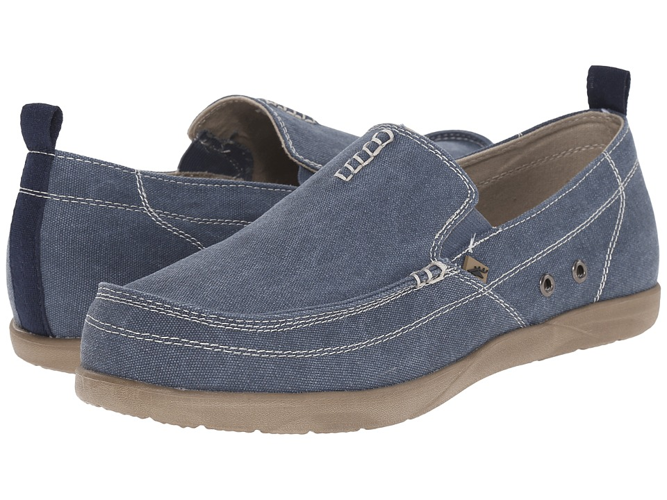 Deer Stags - Nassau (Canvas Blue) Men's Shoes