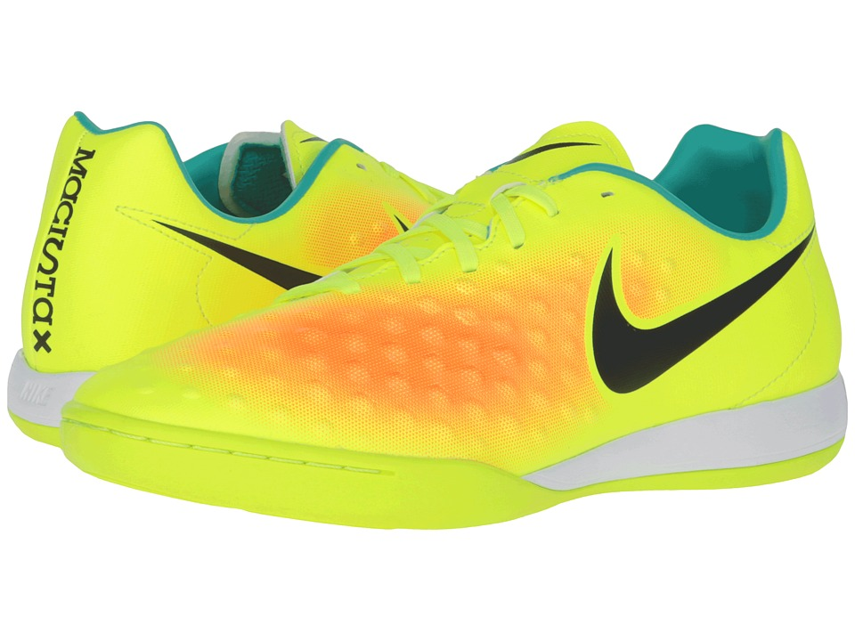 Nike - Magista Onda II IC (Volt/Total Orange/Clear Jade/Black) Men's Shoes