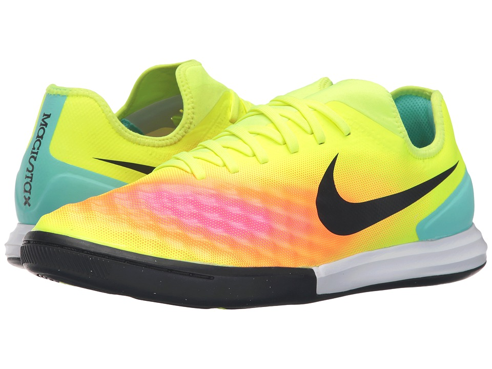 Nike - Magistax Finale II IC (Volt/Total Orange/Pink Blast/Black) Men's Shoes