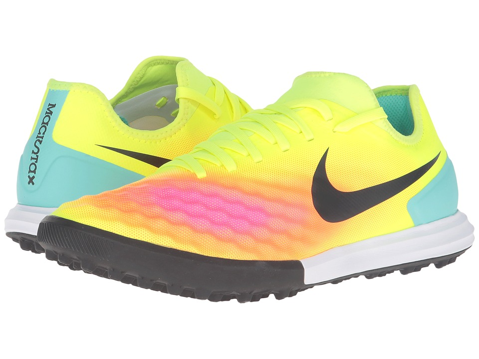 Nike - Magistax Finale II TF (Volt/Total Orange/Pink Blast/Black) Men's Shoes