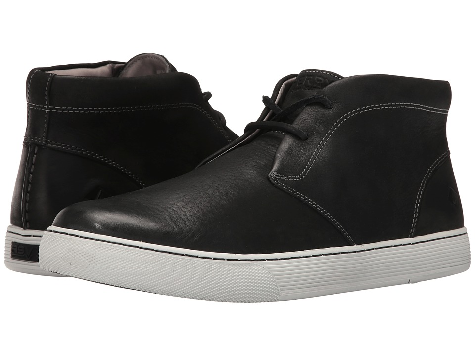 Sperry Top-Sider Gold Sport Casual Chukka w/ ASV (Black/White) Men
