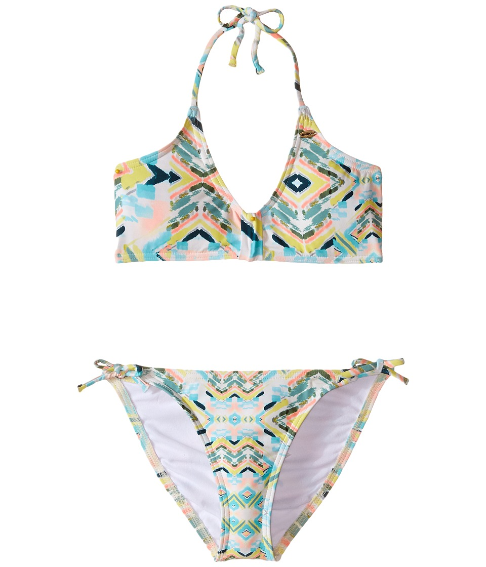 O'Neill Kids - Cabo Top Bikini (Little Kids/Big Kids) (Sea Pea) Girl's Swimwear Sets